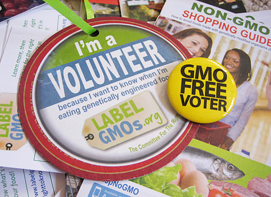 GMO volunteer collage