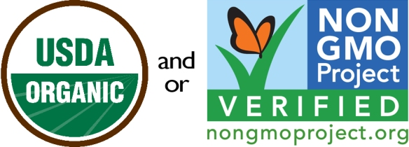 USDA Organic Non GMO Project