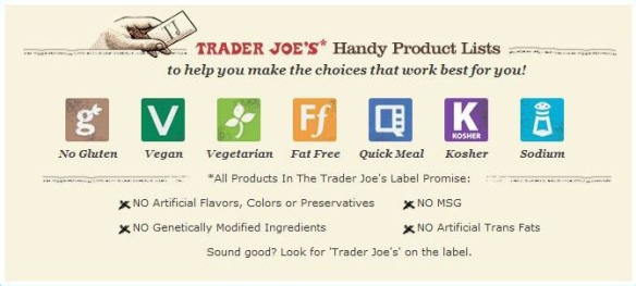 Traders Joes Label
