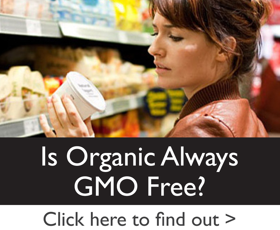 Is Organic Always GMO Free?