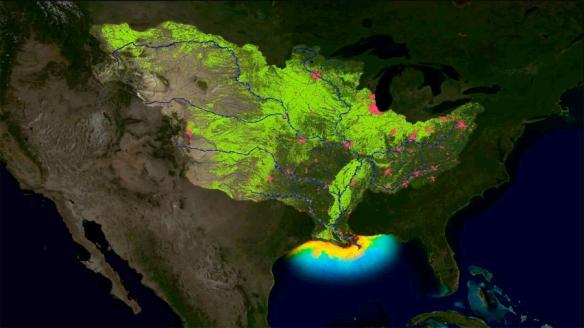 Mississippi hypoxic zone crop