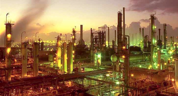 Oil Refinery crop