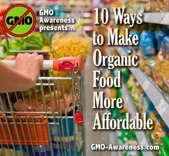 10 ways organic affordable