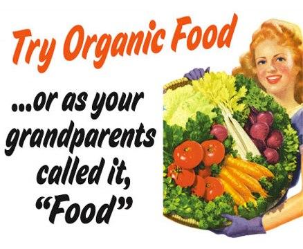 Try organic